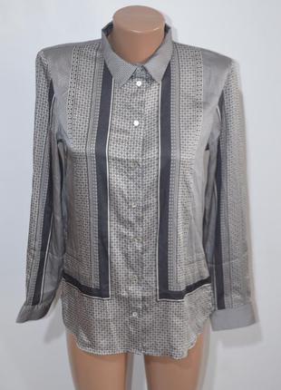 Блузка рубашка платочный принт