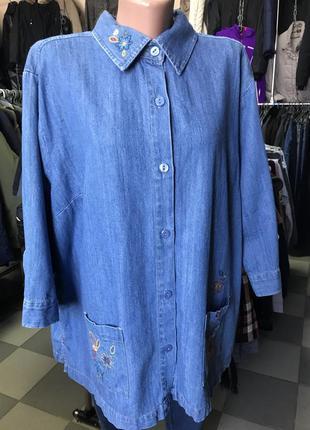 Крутая джинсовка/куртка/рубашка/жакет