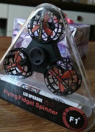 Летающий Спиннер Дрон Flying Fidget Spinner с подсветкой
