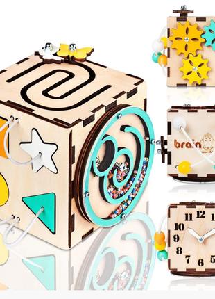 Бизикуб Smart Busy Cube настольная развивающая игра кубик из 6 де