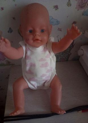 Одежда для кукол,  боди,  Baby born