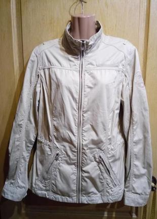 Куртка ветровка без подкладки 100 % хлопок napapijri