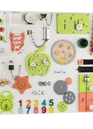 Бизиборд Smart Busy Board настольная развивающая игра доска из 3