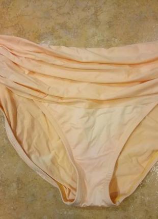 Плавки низ купальника персикового цвета
