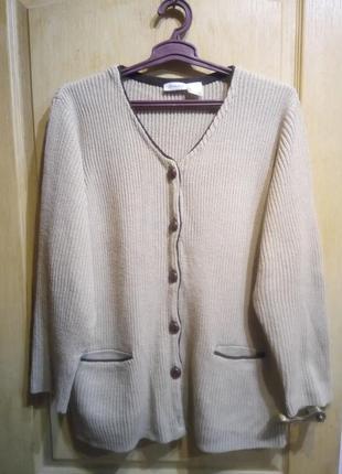 Батал!!! теплая кофта с карманами  пр-во шри-ланка
