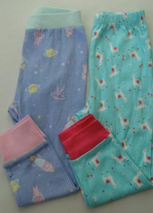 Набор 2 ед. пижама пижамные штаны 2-3 года уценка -primark+mat...