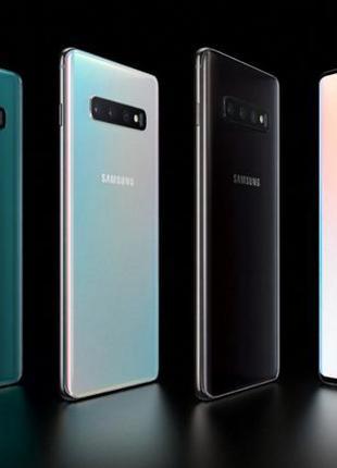 Samsung Galaxy S10 разные цвета и объемы памяти