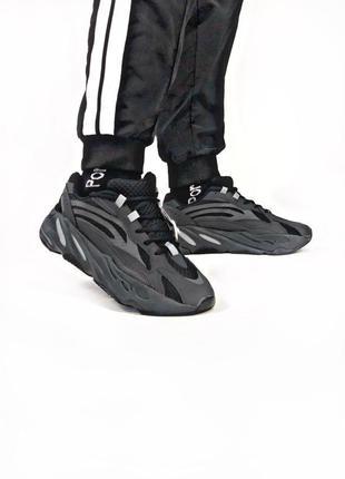 Adidas yeezy boost black, мужские кроссовки адидас весна-осень...