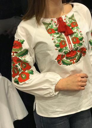 Вышиванка детская блуза для девочки