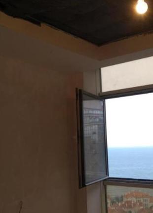 Однокомнатная квартира в Аркадии, прямой вид на море. Сделано поч