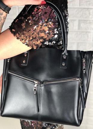 Женская   кожаная сумка  в расцветках