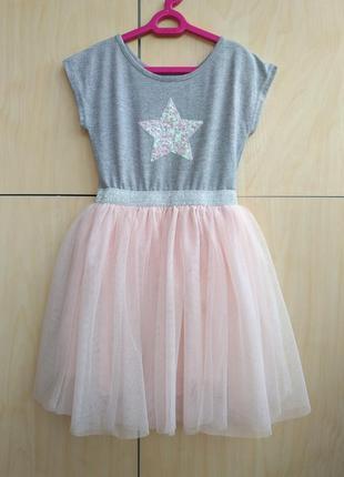 Нарядное платье primark на 4-5 лет