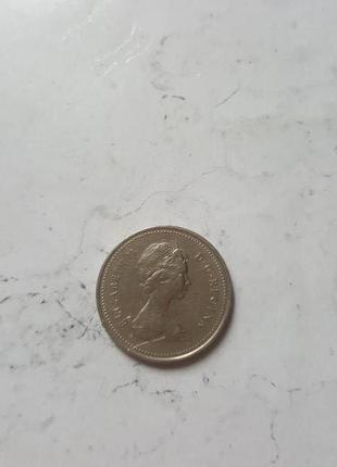 25 центов Канада 1979