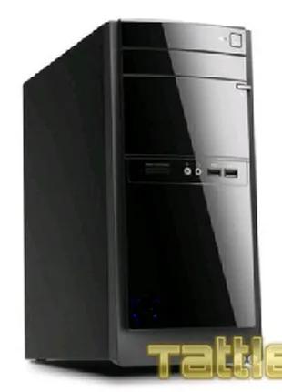 Персональный настольный стационарный компьютер. Монитор.  Системн