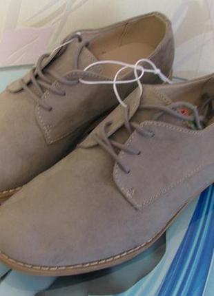 Туфли оксфорды от c&a германия