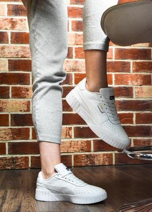 Чудесные кроссовки 💪puma cali white💪