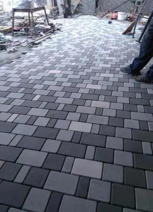 Укладка тротуарной плитки без проблем