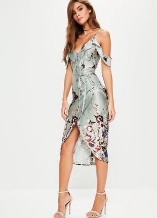 Летнее платье без пояса missguided