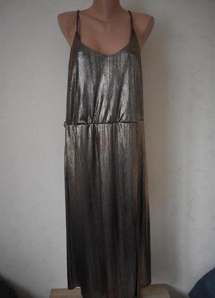 Красивое блестящее платье платье большого размера atmosphere