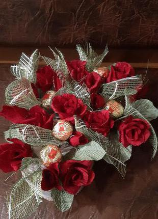 Солодкі квіточки, букетики і коипозиції на замовлення
