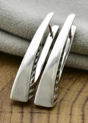 Серебряные серьги тайланд