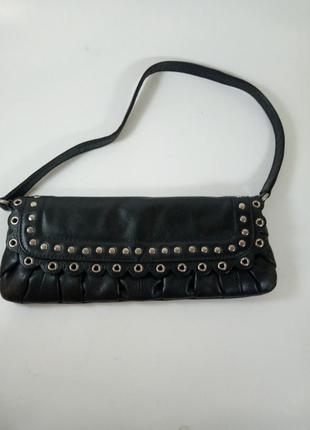 Кожаная сумка клатч suzy smith