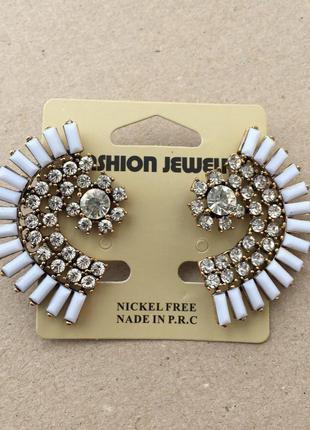 Подарочные серьги, сережки, прикраса, украшения, біжутерія мод...