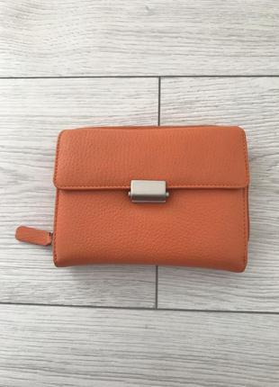 Кошелёк, гаманець, оранжевый кошелек.