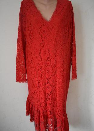 Красивое кружевное платье большого размера by very