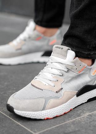 Adidas nite jogger, кроссовки мужские адидас
