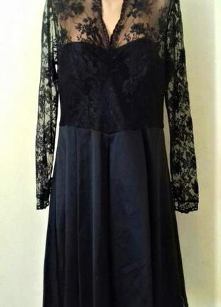 Новое шикарное платье с кружевным верхом большого размера debe...