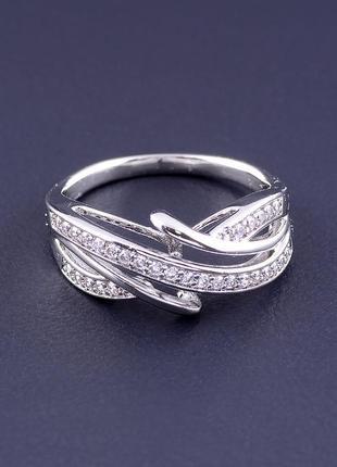 Кольцо 'xuping' фианит (родий) 0886520