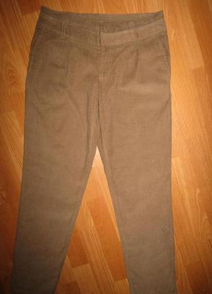Летние вельветки брюки р-р 12/л colours