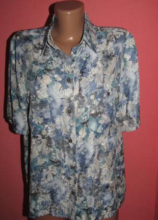 Рубашка блуза р-р 14