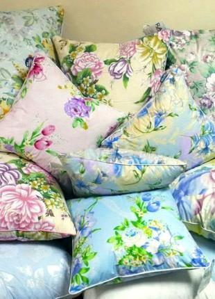 Реставрация подушек, пошив штор, постельного белья