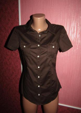 Рубашка р-р 36/sсост новой h&m logg