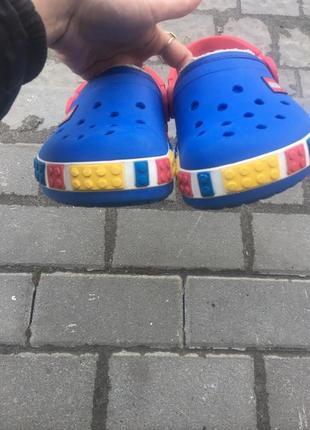 Кроксы crocs lego оригинал j2