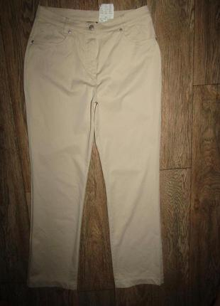 Летние брюки р-р л бренд gardeur
