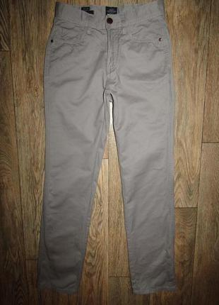 Джинсы брюки мужские р-р xs-28 бренд authentic denim