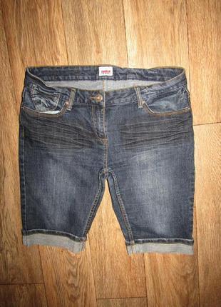 Шорты джинсовые р-р л-14 бренд colours