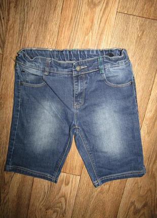 Шорты джинсовые мальчику рост 152 сост новых