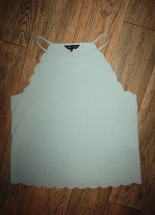 Красивая майка блуза р-р 14-16 бренд new look