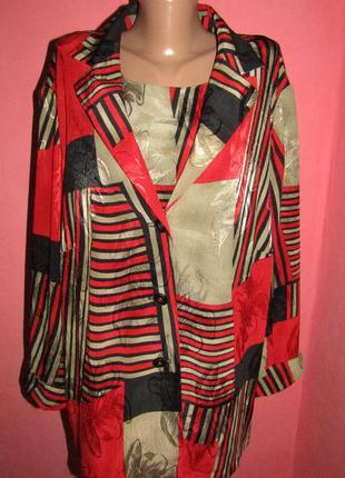 Блуза 2ка большой р-р(22\24) сост новой habella