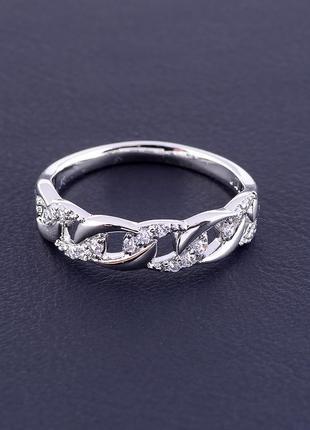 Кольцо 'xuping' фианит (родий) 0886560