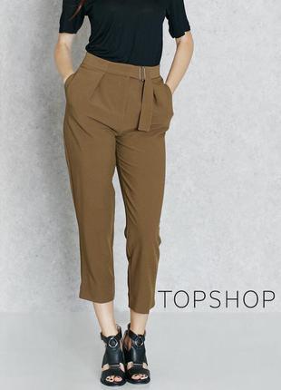 Актуальные брюки бананы topshop