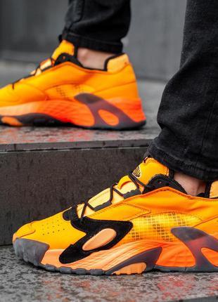 Мужские кроссовки адидас adidas orange, демисезонные