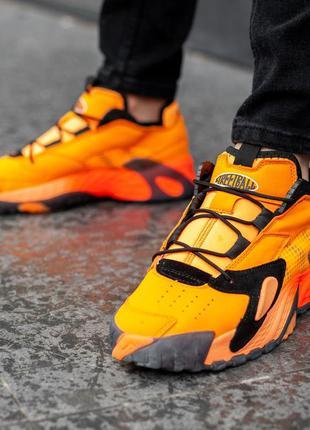Adidas orange, мужские кроссовки адидас