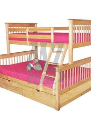 Двухъярусная кровать Лотос Эко