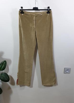 Вельветовые брюки prada оригинал