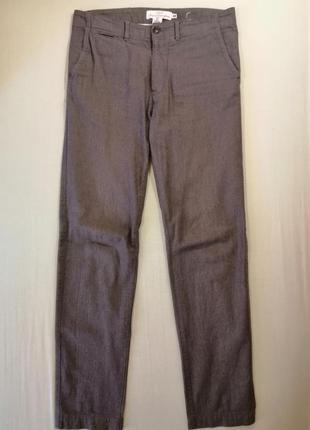 Брюки h&m хлопковые штаны 31 размер